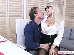 Kylie Page And Ryan ultra-kinky Office