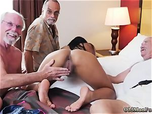 yam-sized elderly mature and parent porks associate duddy s daughter-in-law ass-fuck hd Staycation with a