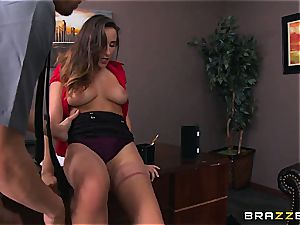 Ashley Adams gets nailed by 2 cops